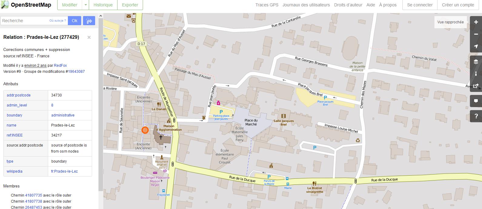 Type de fond de carte numérique sur lequel seront reportés les éléments recensés. OpenStreetMap est en open data, les données sont donc libres d'utilisation.